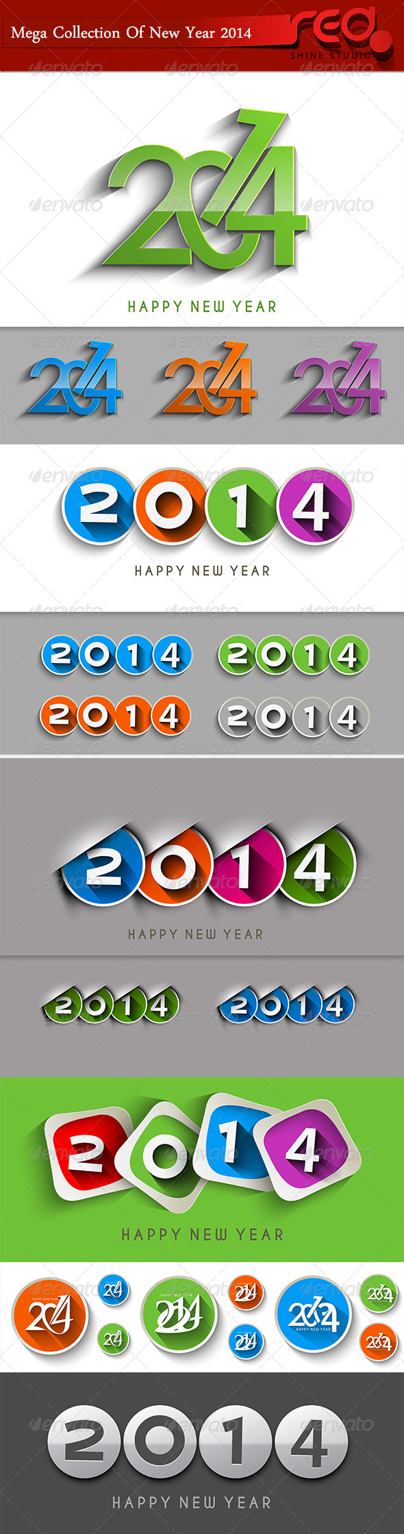 Happy New Year 2014  - New Year Seasons/Holidays