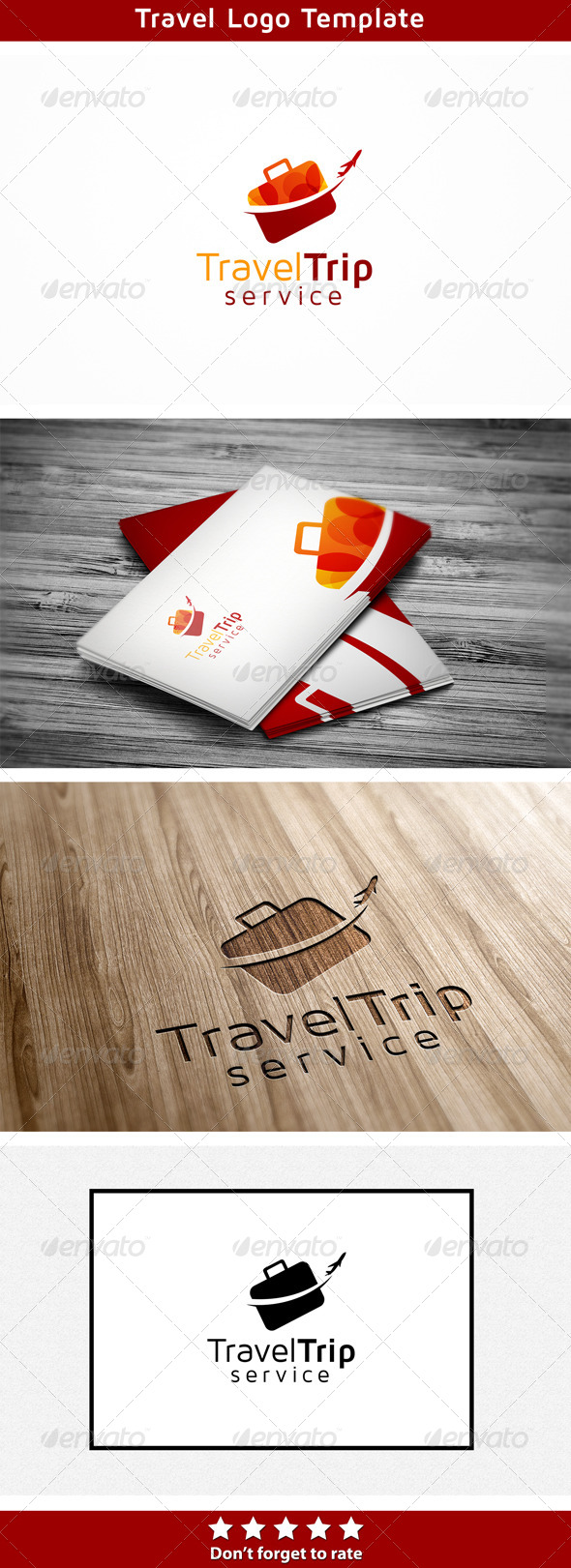 Travel Trip - Abstract Logo Templates