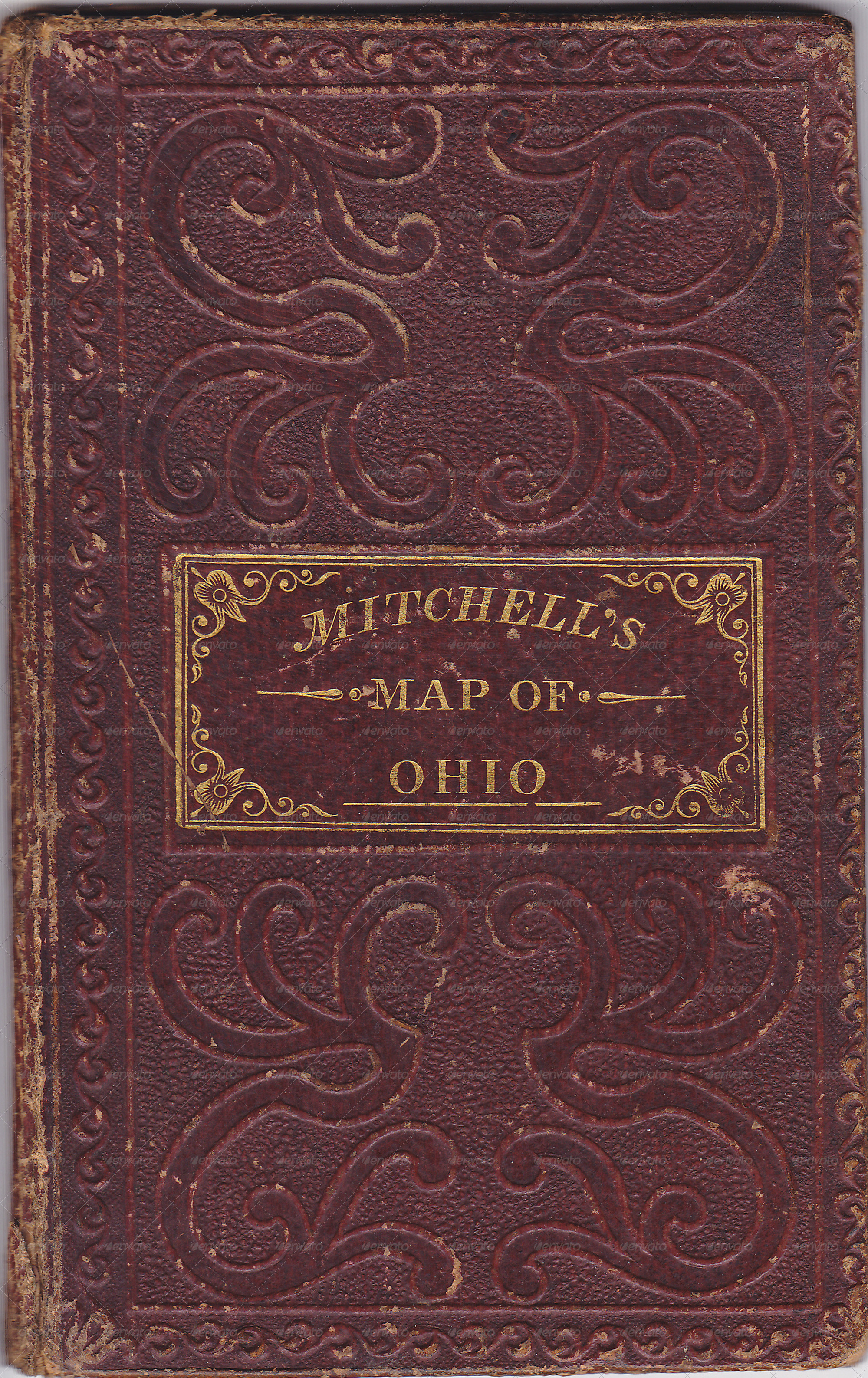 Old Book Front Cover ~ Antique book cover by beachmedia graphicriver