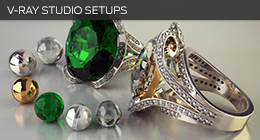V-Ray Studio Setups