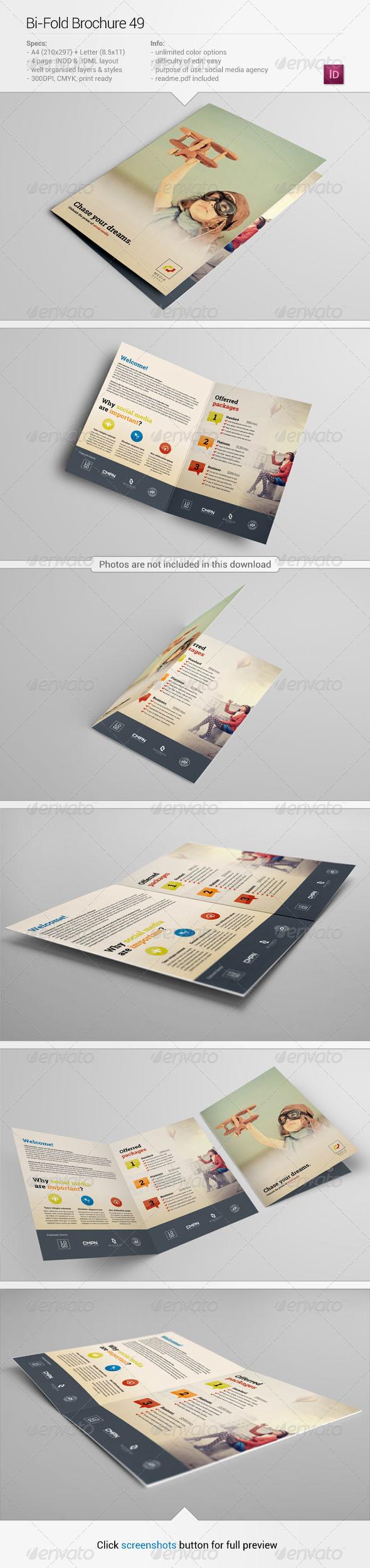 Bi-Fold Brochure 49 - Corporate Brochures