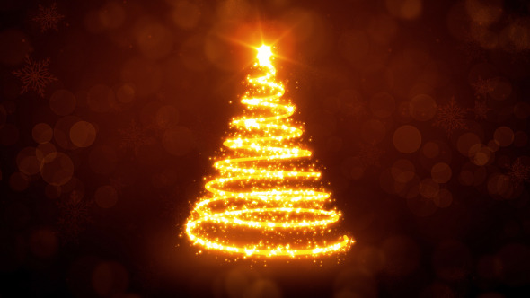 Christmas Tree Lights by FXBoxx | VideoHive