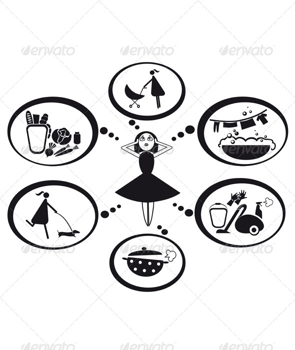 Weekdays Housewives - People Characters