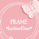 Butterfly Frame - GraphicRiver Item for Sale