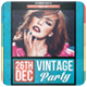 Vintage Party - Flyer