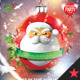 Santa Christmas Ball Party Flyer/Poster - GraphicRiver Item for Sale