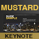 Keynote Template Mustard Color - GraphicRiver Item for Sale