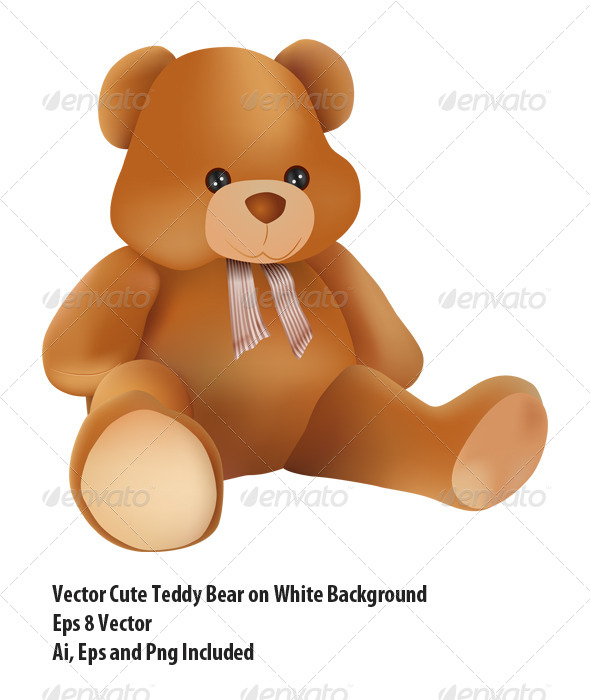 Teddy Bear - Objects Vectors