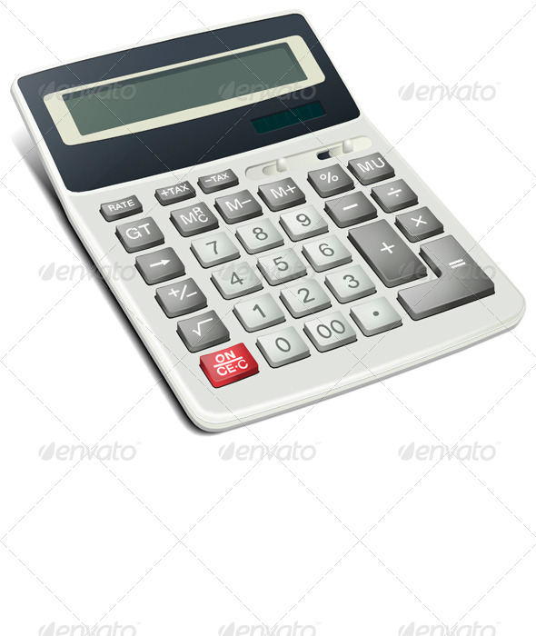 Realistic Calculator - Man-made Objects Objects
