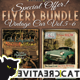 Vintage Car Flyer/Poster Bundle Vol. 5-6 - GraphicRiver Item for Sale