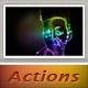 Abstract Light Effect Pro Actions - GraphicRiver Item for Sale