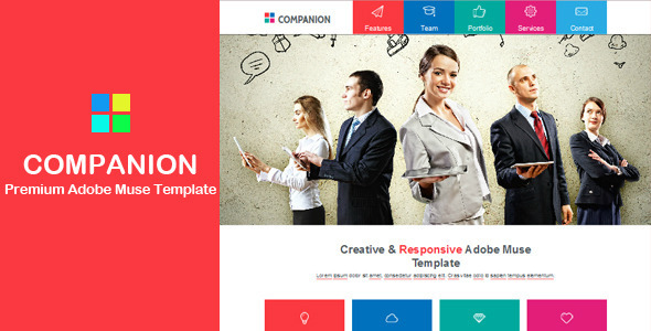 Companion – Multi-purpose Muse Template