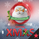 Santa Christmas Ball Timeline Cover - GraphicRiver Item for Sale