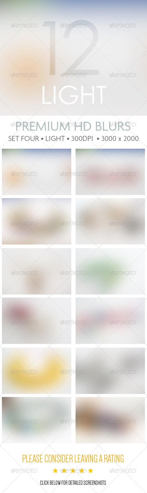 Premium HD Blurs - Set Four - Abstract Backgrounds