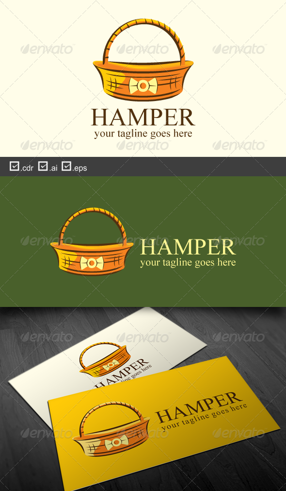 Hamper - Objects Logo Templates
