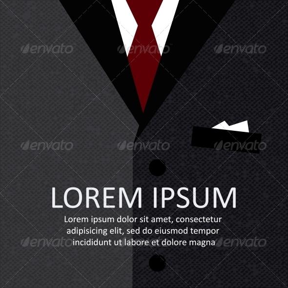 Business Suit Background - Backgrounds Decorative