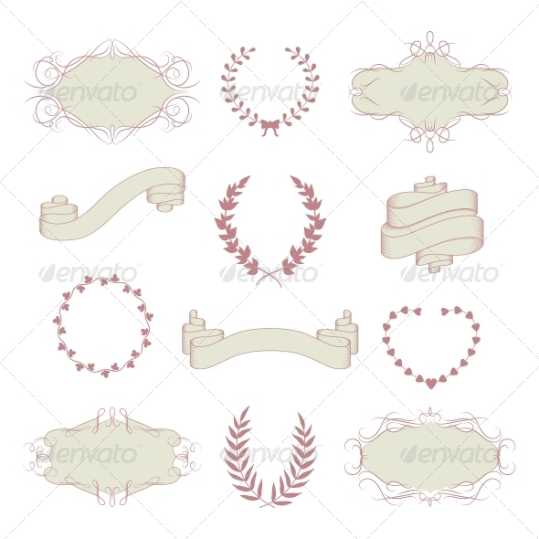 Wedding Graphic Collection - Decorative Symbols Decorative