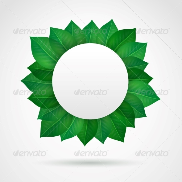 Empty Leaves Frame - Borders Decorative
