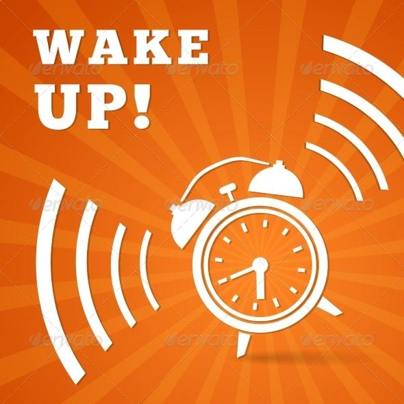 Wake Up Alarm - Abstract Conceptual