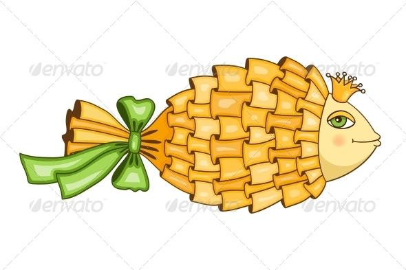Goldfish Symbol - Decorative Symbols Decorative