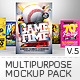 Multipurpose Mockup Pack 5