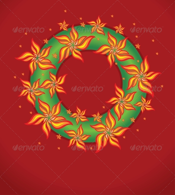 Vector Christmas Garland - Christmas Seasons/Holidays