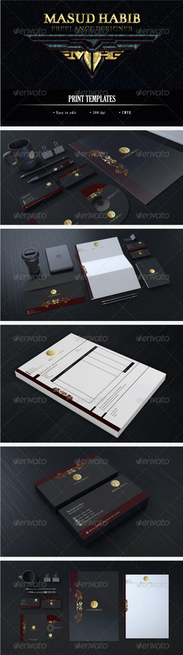 Creative Corporate Identity 09 - Stationery Print Templates
