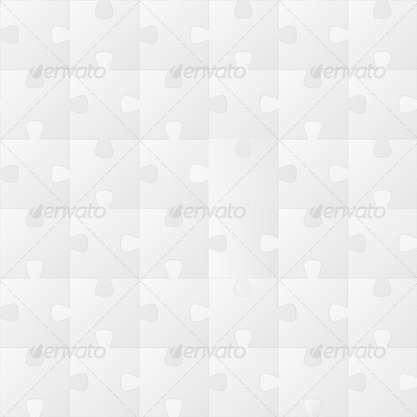 Seamless Puzzle Texture - Patterns Decorative