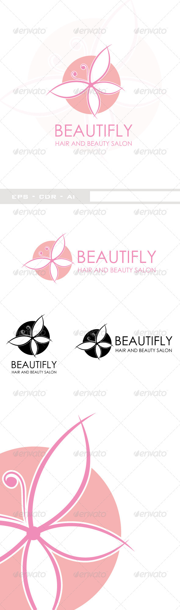 Beautifly Beauty Logo - Symbols Logo Templates