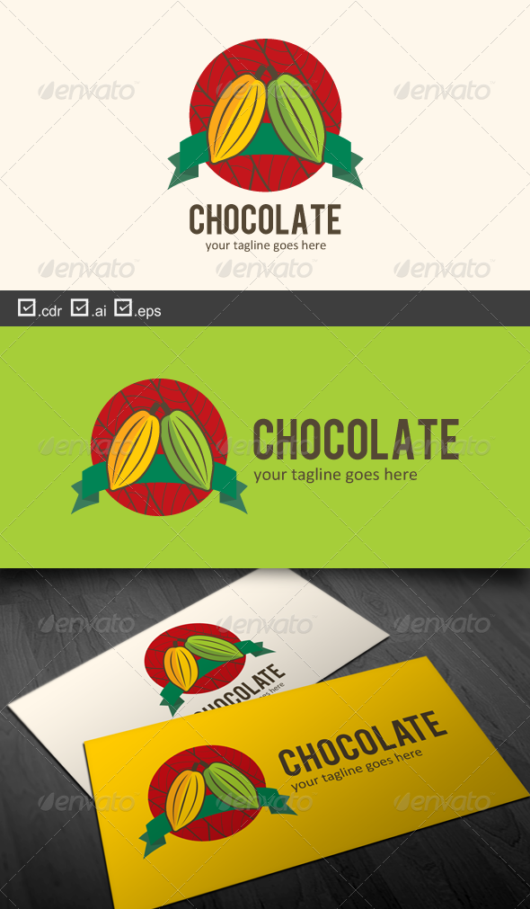 Chocolate - Food Logo Templates