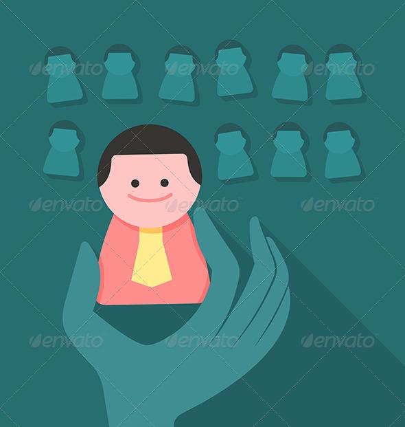 Human Resources Concept - Concepts Business