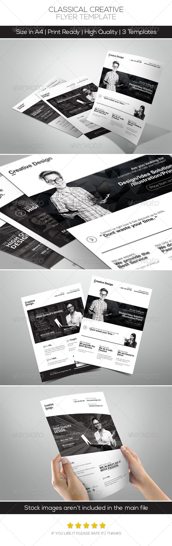 Classical Creative Design Flyer - Corporate Flyers