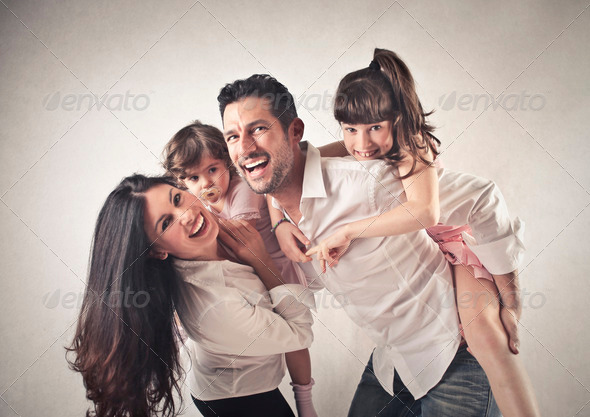 Happy Family - Stock Photo - Images