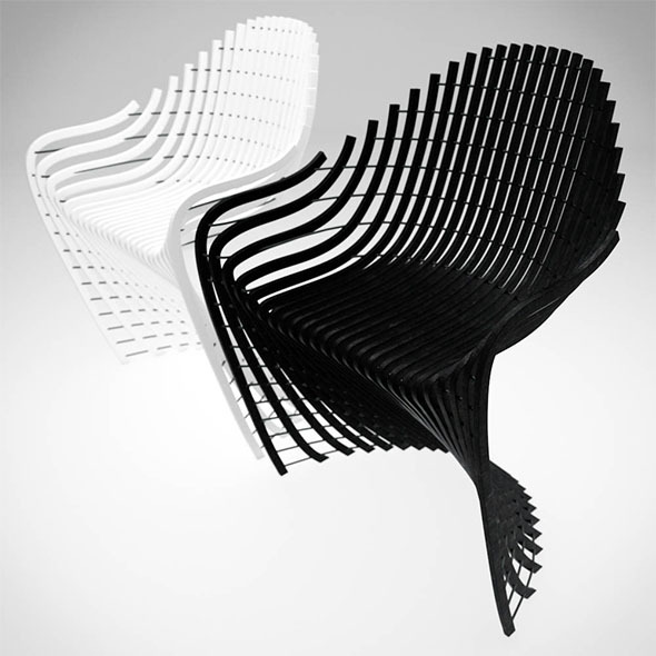 Xanne Armchair - 3DOcean Item for Sale