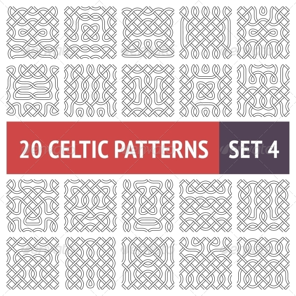 Celtic Patterns Set - Patterns Decorative