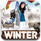 Winter Adventure Flyer Template - GraphicRiver Item for Sale