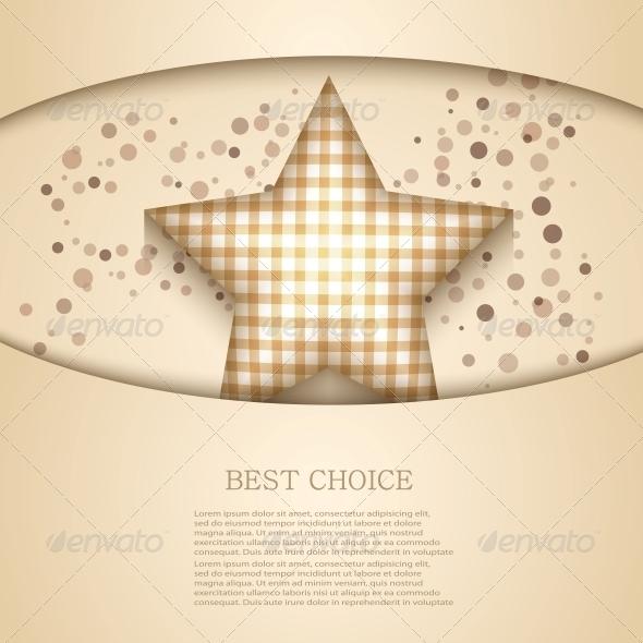 Vector Ramadan Background - Decorative Symbols Decorative