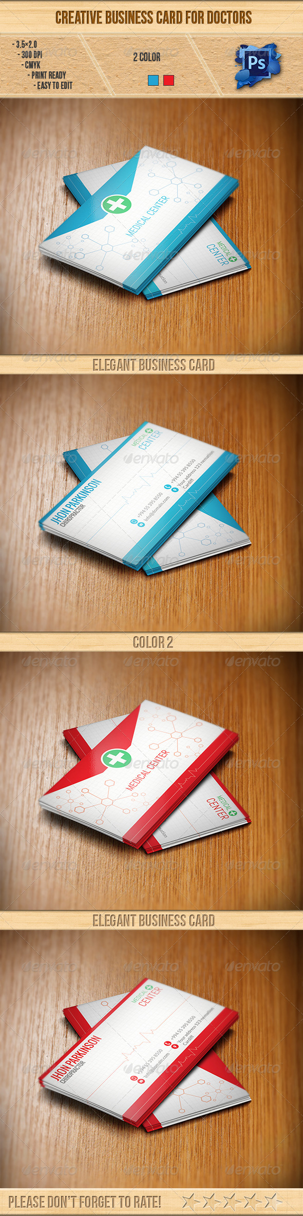 Creative Business Card for Doctors - Creative Business Cards