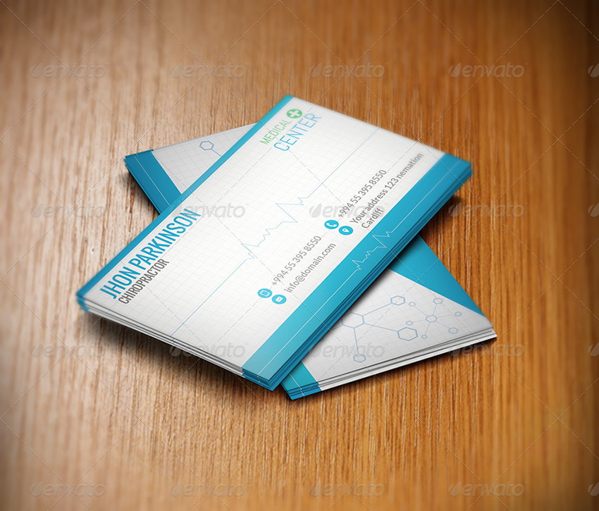Creative Business Card for Doctors by colorfuldesign | GraphicRiver