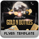 Gold n Bottles Flyer Template