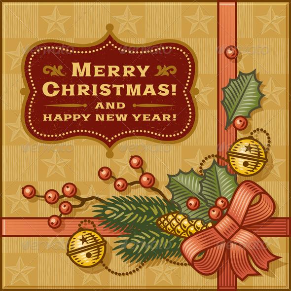 Vintage Christmas Gift - Christmas Seasons/Holidays