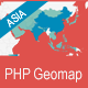 PHP Geomapping Widgets (Asia)