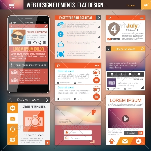 Web Design Elements - Web Technology