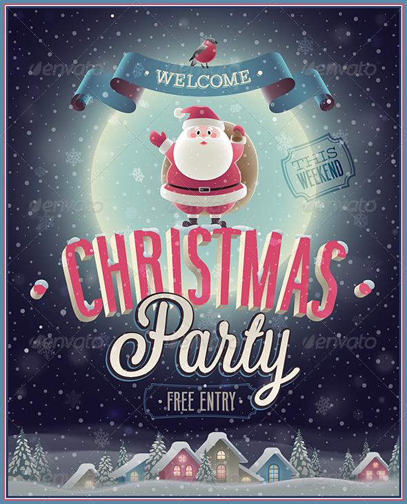 Christmas Poster - Christmas Seasons/Holidays