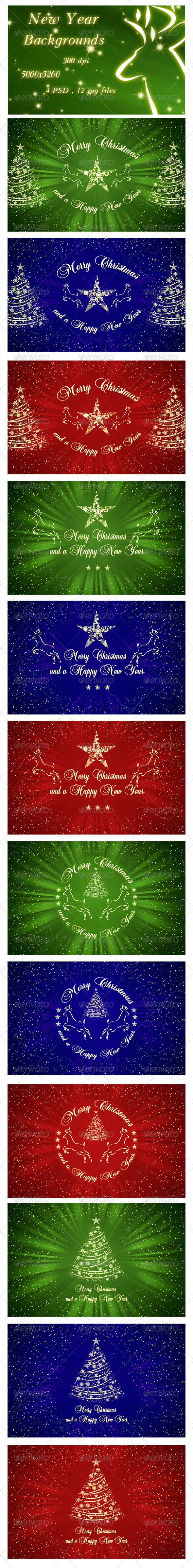 New Year Backgrounds - Miscellaneous Backgrounds