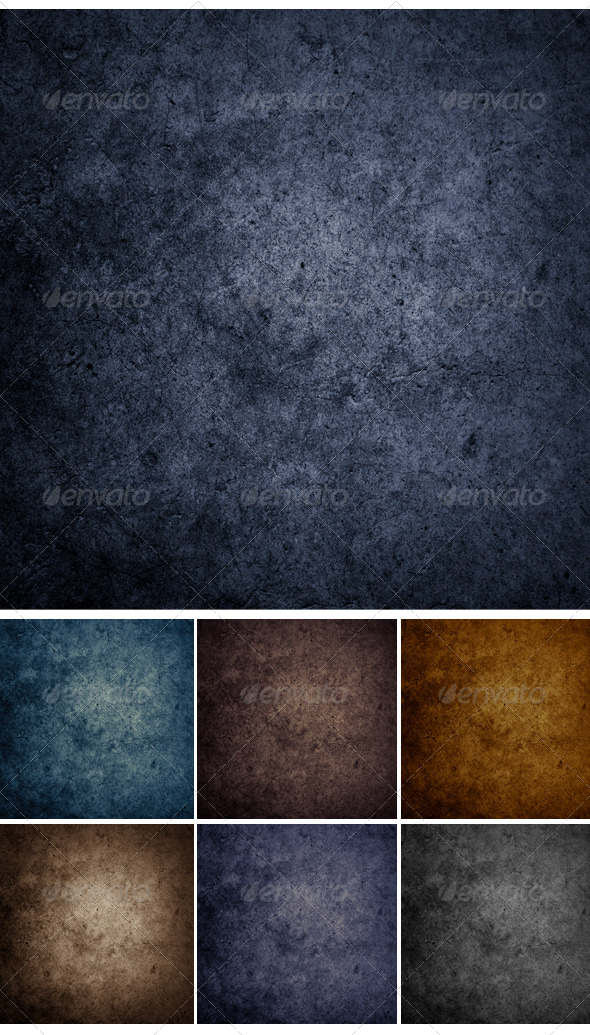 Set Concrete Wall Background or Texture.  - Urban Backgrounds