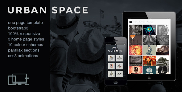 UrbanSpace - Responsive One Page Parallax Template