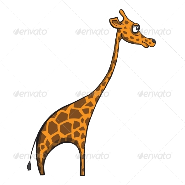 Cartoon Giraffe - Animals Characters