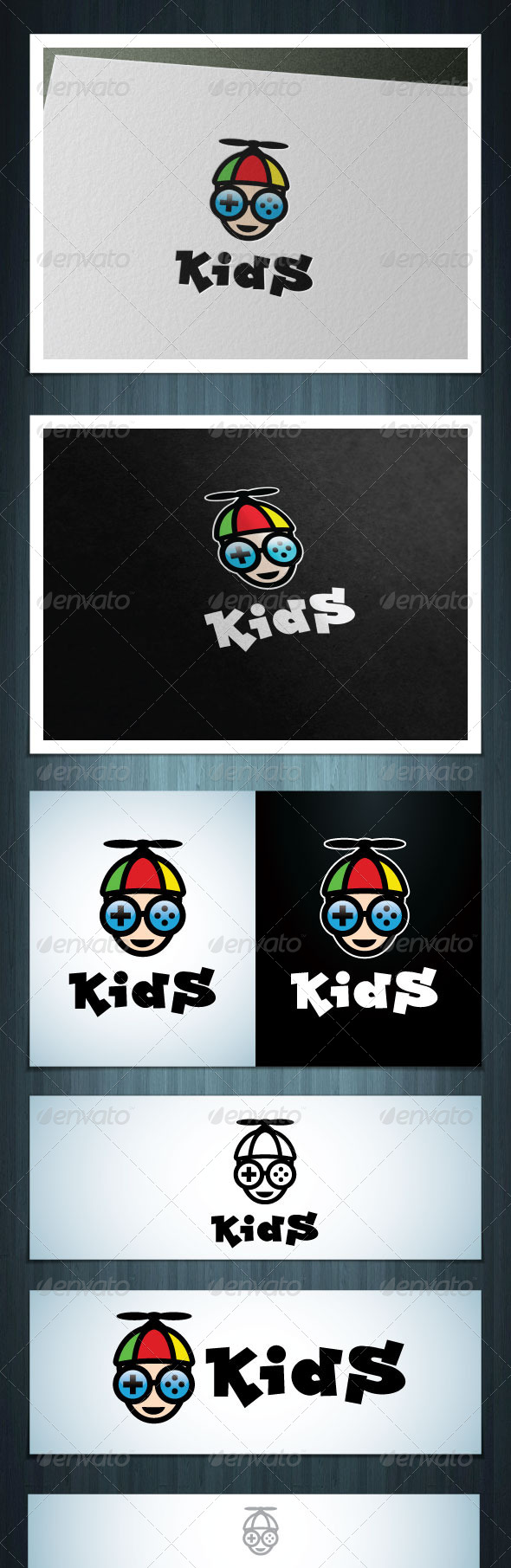 Kids Game - Vector Abstract