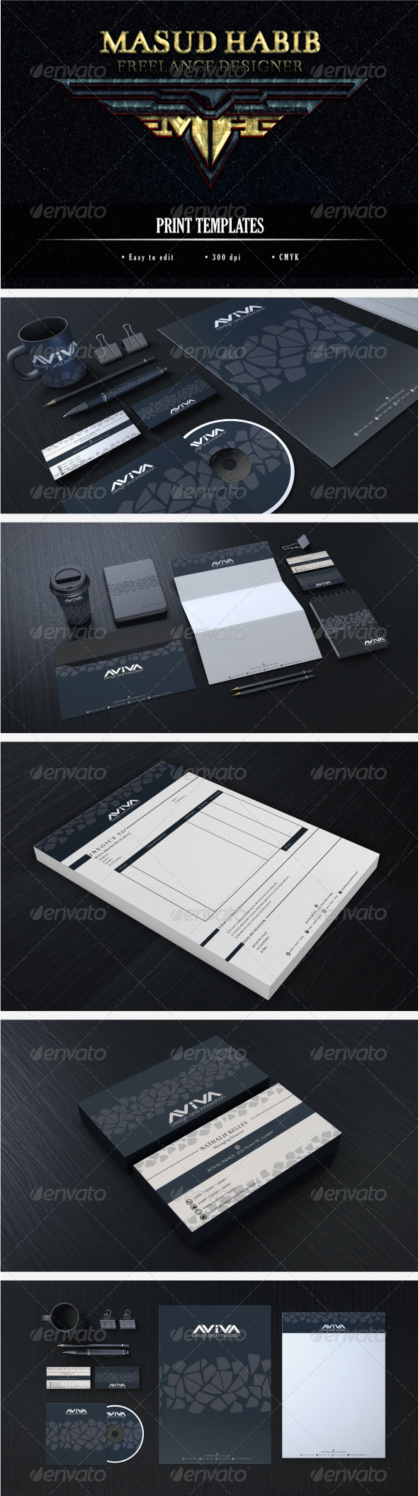 Creative Corporate Identity 10 - Stationery Print Templates